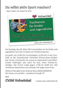 Kids-Turnier 2013